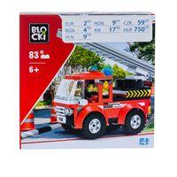 PEPCO - Klocki blocki (72 elementy) czerwony