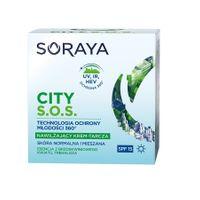 Soraya City S.o.s. Spf15 Nawilżający Krem-Tarcza Na Dzień Do Skóry Normalnej I Mieszanej 50Ml