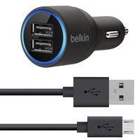 BELKIN ŁADOWARKA SAMOCHODOWA 2A + KABEL MICRO USB