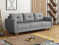 Sofa skandynawska MANSTAD sprężyna mocna tkanina
