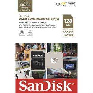 SanDisk Karta microSDHC MAX ENDURANCE 128GB SDSQQVR-128G-GN6IA