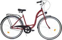 """Rower Dallas City 26"""" 3spd - czerwony z czarnym"""