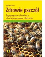 """Książka""""Zdrowie pszczół- zapobieganie chorobom, ich rozpoznawanie i leczenie"""" Wolfgang Ritter"""