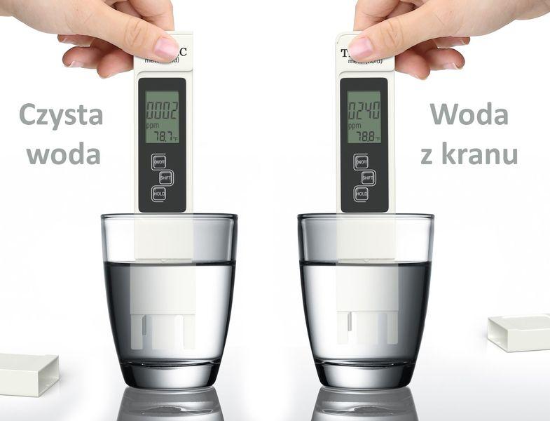 Miernik TDS EC Temp Tester Twardości Wody Osmoza na Arena.pl