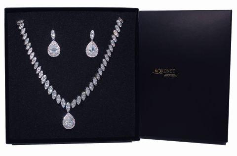 Komplet ślubny DOLCE silver KOKONET 8-0010 a