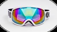 Gogle narciarskie BORN ON BOARD Hot Planet + Etui