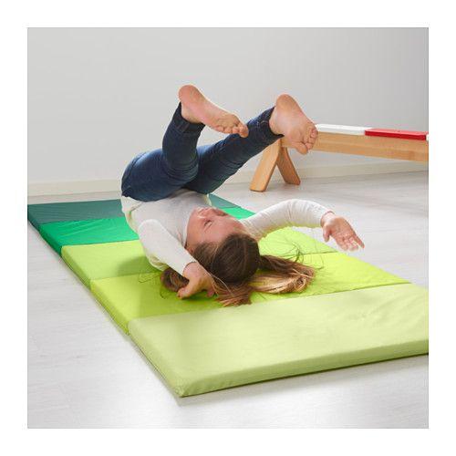 Składana mata gimnastyczna PLUFSIG , zielona Ikea zdjęcie 2