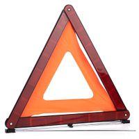 Samochodowy trójkąt ostrzegawczy, homologacja E4 27R-032734, plastikowe etui