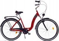 """Rower Dallas City Alu 28"""" 3spd GE - czerwony"""