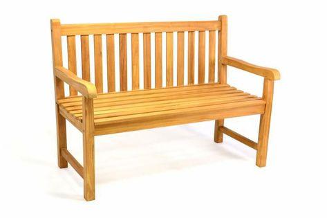 Ławka ogrodowa 2-osobowa drewniana 120 cm D35180