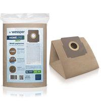 Papierowe worki do odkurzaczy Wessper WES1016 HomeLine Eco 5 szt