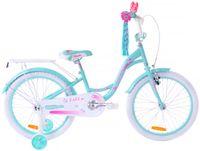 Rower dziecięcy 20 Fuzlu Lilly turkus / pink