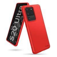 Ringke Air S Ultracienkie Żelowe Etui Pokrowiec Samsung Galaxy S20 Ultra Czerwony (Adsg0021)