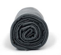 Ręcznik treningowy Dr.Bacty XL 70 x 140 cm ciemnoszary