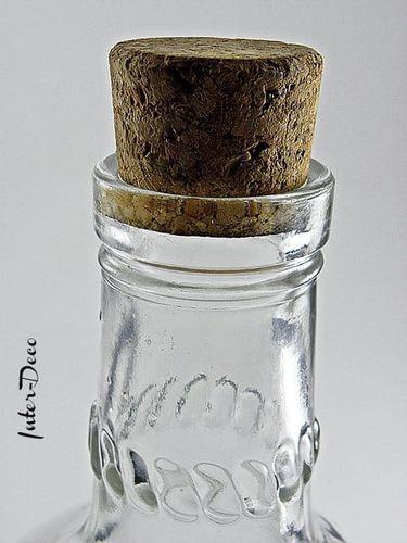 Duża szklana butelka z uchwytem na sok wodę alkohol wino na Arena.pl