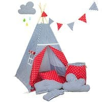 Namiot tipi dla dziecka Marynarski Sen - zestaw maxi