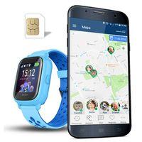 Smartwatch dla dzieci CALMEAN NEMO2, niebieski