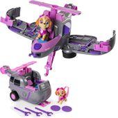PSI PATROL Flip & Fly Pojazd + figurka Skye
