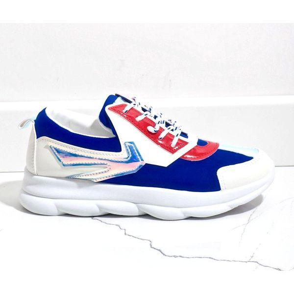 Białe sneakersy sportowe damskie W-3112 r.41 zdjęcie 1