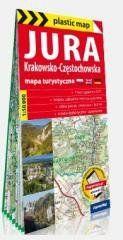 Plastic map Jura Krakowsko-Częstochowska 1:50 000 praca zbiorowa