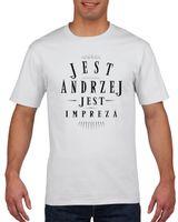 Koszulka męska JEST ANDRZEJ JEST IMPREZA M