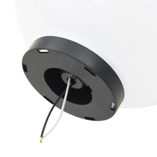 Lampy zewnętrzne LED, 2 szt., kule 30 cm, PMMA zdjęcie 6