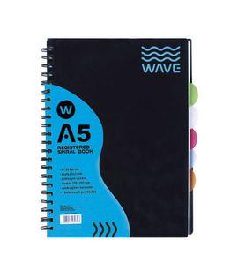 KOŁOZESZYT ASTRA PP A5 120 KARTEK KRATKA WAVE