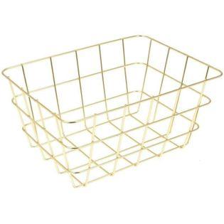 Koszyk Na Owoce I Warzywa 24X18X12Cm Złoty Excellent Houseware 126050