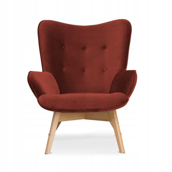 Modernistyczne Fotel Cherub fotel uszak nowoczesny wybór kolorów • Arena.pl EI51