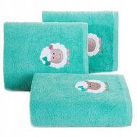 Ręcznik dla dzieci BABY 70x140 owieczka miętowy