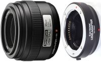 Olympus Zuiko Digital 35mm F3.5 Macro obiektyw adapter Micro 4/3 Makro