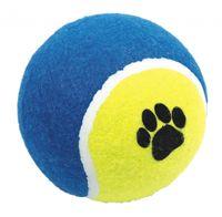 Piłka tenisowa PET NOVA 10 cm jaskrawa