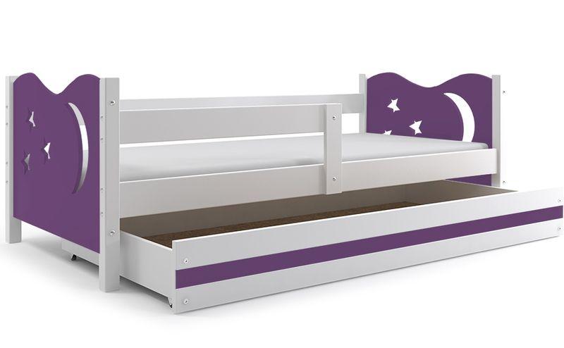 Łóżko łóżka Mikołaj dziecięce 160x80 parterowe + SZUFLADA zdjęcie 24