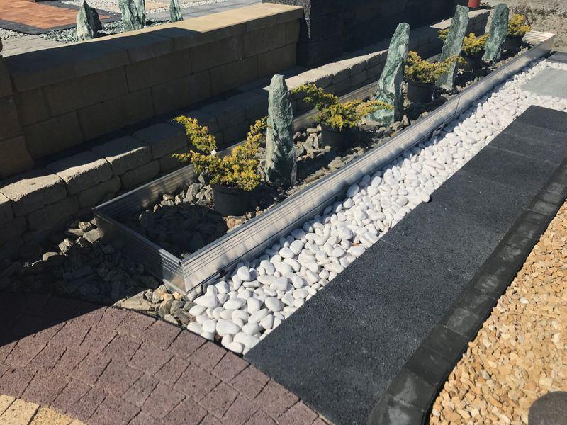 Kamień Dekoracyjny Do Ogrodu I Domu Biały Thassos White Otoczak 10 20 Mm 20 Kg