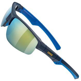 OKULARY SPORTOWE UVEX SPORTSTYLE 226 BLUE MAT