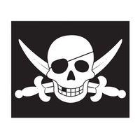 Flaga piracka z systemem podnoszenia na maszt