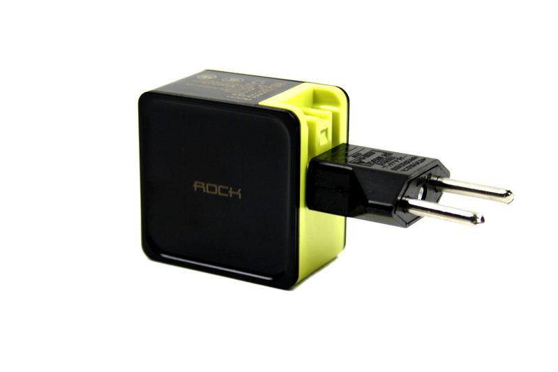 ROCK SUGAR 2 USB ŁADOWARKA SIECIOWA IPHONE SAMSUNG zdjęcie 4