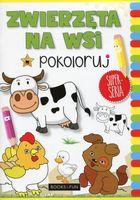 Zwierzęta na wsi Pokoloruj