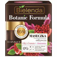 Bielenda Botanic Formula Olej Z Granatu + Amarantus Maseczka Odżywcza Do Twarzy 50Ml