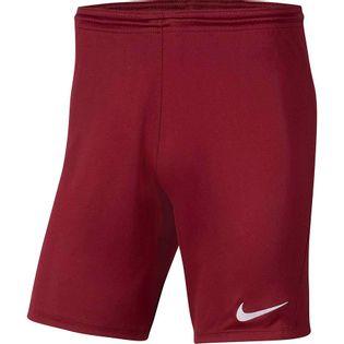 Spodenki dla dzieci Nike Dry Park III NB K bordowe BV6865 677