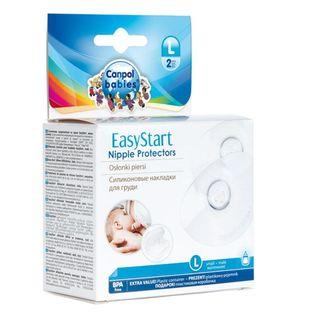 CANPOL BABIES roz.L 2SZT - silikonowe osłonki piersi