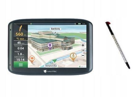 Nawigacja GPS Navitel E100 5' 4GB POLSKA + EU WSCH