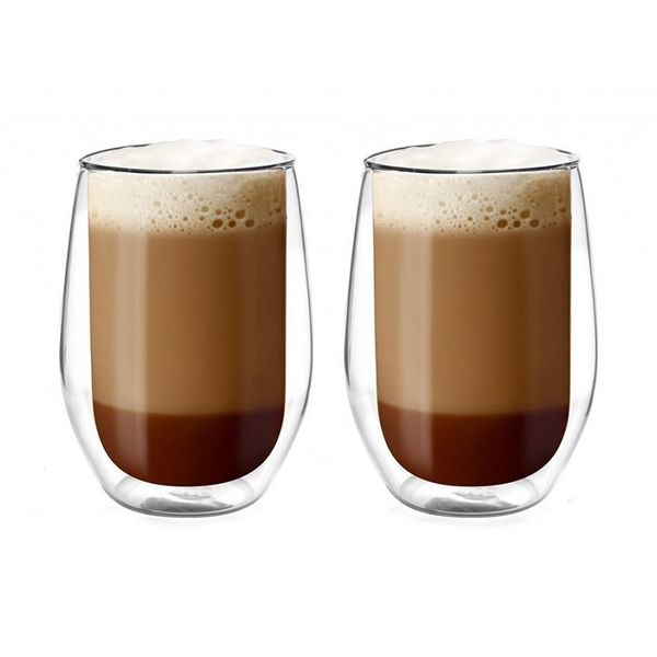 Szklanki termiczne do kawy Caffe Latte 400ml Amo 2szt zdjęcie 1