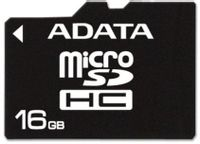Karta Pamięci A-Data Microsdhc 16 Gb Adapter Sd