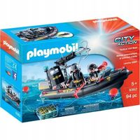 Playmobil City Action Tactical Unit Boat