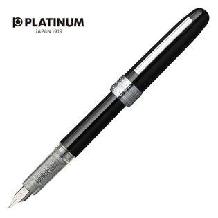 Pióro Wieczne Platinum Plaisir Black, F, Czarne