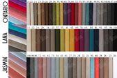Łóżko tapicerowane STORIE 160x200+ Stelaż zdjęcie 18