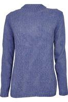 H&M Niebieski Sweter, Warkocz, Soft - 40 / L