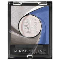 MAYBELLINE Big Eyes cienie 04 luminous blue