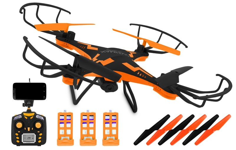 DRON OVERMAX X Bee Drone 3.1 WI-FI +KAMERA FPV LED zdjęcie 1